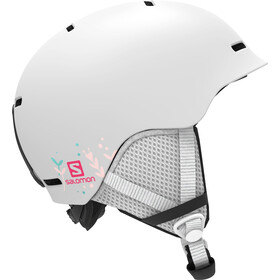 Salomon Grom Helm Kinderen, white